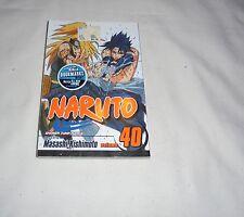 SHONEN JUMP MANGA- Naruto VOL 40 JAPANESE ANIME