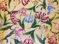 """A Ramm Fabric - By Philip Jacobs - """"TULIP"""" - 2 3/4 yd - Made in England - R440"""