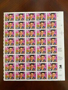 United States Stamps 1993 MNH Sheet of Elvis Presley Scott #2721