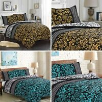 100% Egyptian Cotton Printed Duvet Cover Sets/Fitted Sheets/Curtains All Sizes