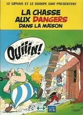 UDERZO . ASTERIX LA CHASSE AUX DANGERS N°1 . PUB GIPHAR / GMF . 1991 .