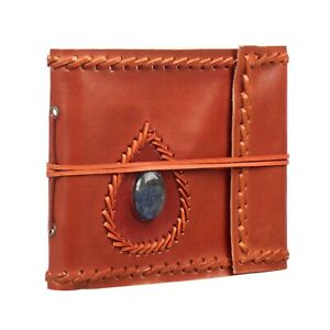 Stoned Leather Photo Album, 4 Sizes, 30 Pages to fit 6x4 and 7x5 Pictures