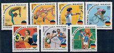 (W0944) MADAGASCAR 1992, OLYMPIC SUMMER GAMES, MI 1374/80, MNH/UM, SEE SCAN
