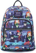 Loungefly лицензированной DC Comics Ladies Gotham City Sirens мини рюкзак кошелек