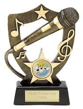 MUSIC SINGING TROPHY KARAOKE SINGER WINNER TROPHY AWARD 17.5cm A389B B1
