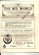 More details for  6 wartime issues the bee world beekeepers magazine (pamphlet)  from 1944 fair