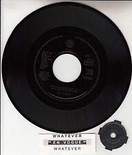 "EN VOGUE  Whatever 7"" 45 rpm vinyl record + juke box title strip RARE!"
