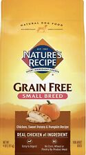 Nature's Recipe Grain Easy to Digest Chicken Sweet Potato and Pumpkin  4 lb. Bag