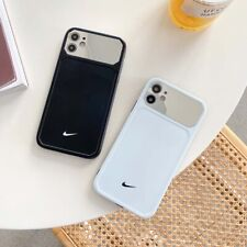 Simple Stylish Nike Black White Mirror Phone Case Cover For iPhone11Pro 8+ XR XS