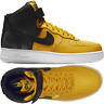 Nike Air Force 1 High 07 Lv8 Black/Mustard Men's Shoes Lifestyle Comfy Sneakers