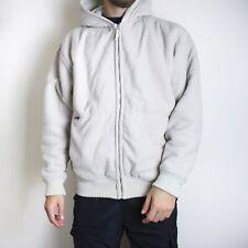 Vintage Schott NYC Sherpa Jacket White Winter Wear Hooded Thick Coat