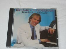 From Paris with Love by Richard Clayderman CD Columbia Records Think of Laura
