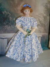 """Blue """"At Home"""" Dress for Huret Doll 15"""" (doll not included)"""