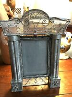 Outstanding Victorian Twisted Wire Hearts  Antique Photo Picture Frame