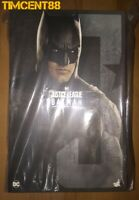 Ready Hot Toys MMS455 Justice League Batman Ben Affleck 1/6 New Normal Version