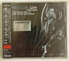 Bob Dylan Live 1961-2000 CD Japon 2001 Con OBI y Sticker en portada