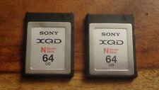 XQD Sony 2X64GB N Series