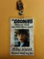 The Goonies  ID Badge - Mikey Walsh costume cosplay