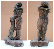 """ Abrazando Mi Amante ""  (Hugging my Lover) SCULPTURE BY EZEIZA"