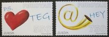 Europa, the letters stamps, Faroe Islands, 2008, 2 stamp set, MNH