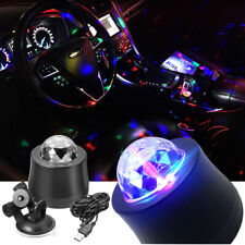 Car Disco Dj Stage Led Crystal Ball Party Lamp Light For Car Civic Xmas Party CL