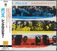 The Police ‎Synchronicity JAPAN CD with OBI POCM-2078