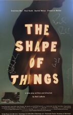 THE SHAPE OF THINGS Signed Off Broadway Poster - Paul Rudd, Rachel Weisz ++