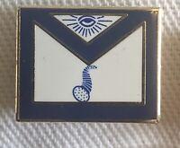 Masonic Apron Tiler Lapel Pin Rare