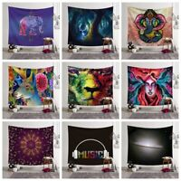 Psychedlic Tapestry Wall Hanging Wall Blanket Art Bedspread Home Decor TW