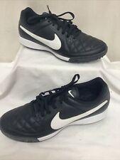 Nike Tiempo Genio Leather Football Trainers UK8 EU 42.5 NEW FREE P&P