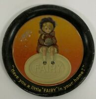 Vintage Fairy Scented Soap Advertising Tip Tray