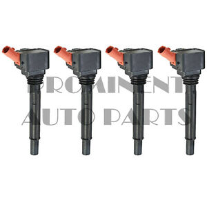 Set of 4 Ignition Coil For 14-17 Fiat 500L Jeep Renegade 1.4L 55250468 UF755