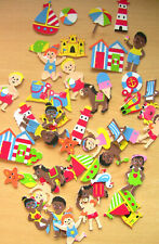 Beach, Seaside foam stickers, scrapbooking,  kids crafts
