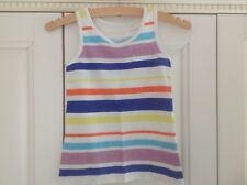 NEXT girls stripe t-shirt, age 7, in good used condition.