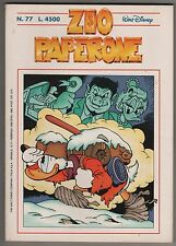 Carl Barks Don Rosa ZIO PAPERONE N.77 The Walt Disney Company Italia 1996