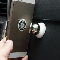 White Universal Mobile Smart Cell Phone GPS Car Magnetic Dash Bolt Mount Holder