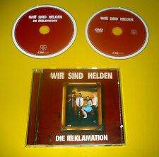 """CD + DVD """" WIR SIND HELDEN - DIE REKLAMATION """" 19 SONGS (RÜSSEL AN SCHWANZ)"""
