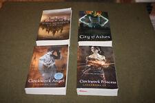 Lot of 4 Cassandra Clare TPBs Clockwork Angel & Princess, City of Bones & Ashes