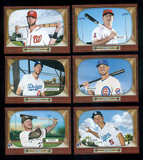 """2016 Topps """"THROWBACK THURSDAY"""" Complete (155) Baseball Card Set TROUT,BRYANT+++"""