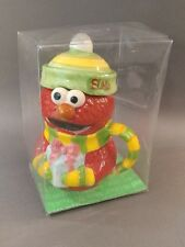Sesame Street Elmo jar mug with lid & handle