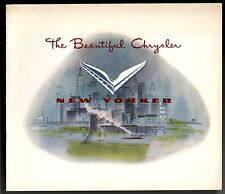 [62368] 1951 Chrysler New Yorker Automobile Sales Brochure