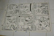 PATSY & HEDY #110 ORIGINAL ART, PAGE 5, AL HARTLEY?, MARVEL LARGE ART, walker Comic Art