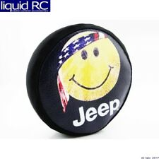 Hot Racing SCX36117H 1/10 Scale Happy Face Spare Tires Cover - Scx10 (toy)