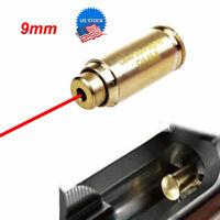 US Boresight CAL 9mm Red Dot Laser Bore Sight Calibrator Cartridge F Hunting