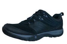 Scarpe da ginnastica trekking, escursioni, arrampicate nero con stringhe per donna