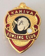 Kaniva Bowling Club Badge Pin Vintage Lawn Bowls (L29)
