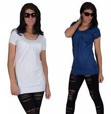 Locker sitzende Damenblusen, - tops & -shirts aus Baumwollmischung