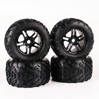 RC 4Pcs 160mm 1:8 Bigfoot Tires&Wheel 17mm Hex for TRAXXAS Monster Truck Car