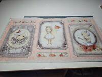 La Vie En Rose Panel 23x42 Gorjuss Santoro Quilting Treasures Girl BOLT END #1