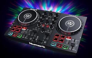Numark Party Mix II Serato DJ Controller w/ Built-In Light Show/2-Band EQ